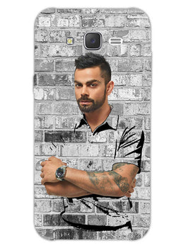 The Wall Of Kohli Samsung Galaxy J7 2015 Mobile Cover Case