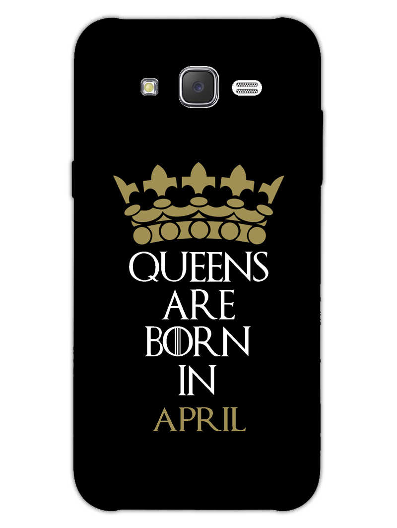 Queens April Samsung Galaxy J7 2015 Mobile Cover Case