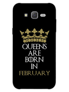 Queens February Samsung Galaxy J7 2015 Mobile Cover Case