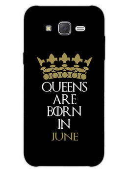 Queens June Samsung Galaxy J7 2015 Mobile Cover Case