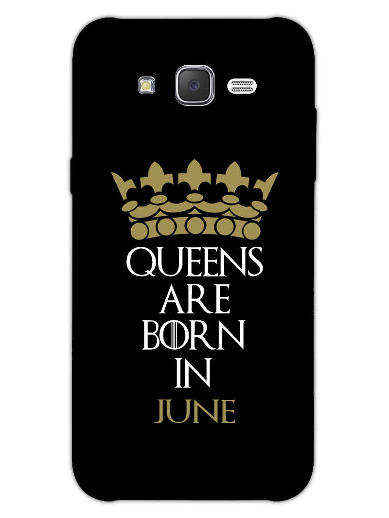Queens June Samsung Galaxy J7 2015 Mobile Cover Case - MADANYU