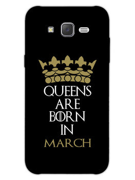 Queens March Samsung Galaxy J7 2015 Mobile Cover Case