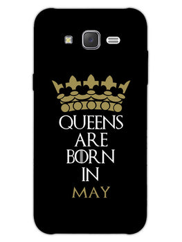 Queens May Samsung Galaxy J7 2015 Mobile Cover Case