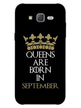 Queens September Samsung Galaxy J7 2015 Mobile Cover Case