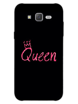 Queen Pink Samsung Galaxy J7 2015 Mobile Cover Case