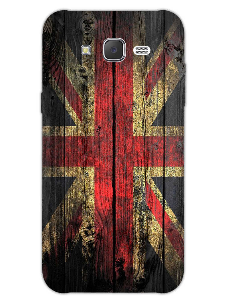 Union Jack Samsung Galaxy J7 2015 Mobile Cover Case - MADANYU