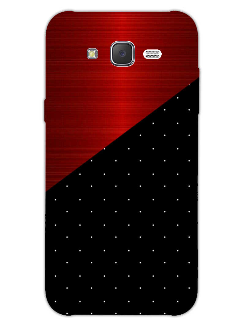 Polka Dots On Wood Samsung Galaxy J7 2015 Mobile Cover Case - MADANYU