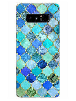 Morroccan Pattern Samsung Galaxy Note 8 Mobile Cover Case