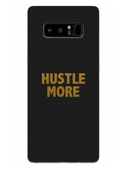 Hustle More Samsung Galaxy Note 8 Mobile Cover Case