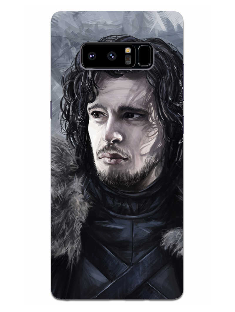 Jon Snow Samsung Galaxy Note 8 Mobile Cover Case - MADANYU