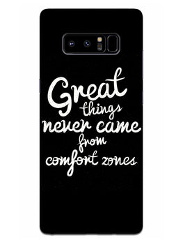 Comfort Zone Gyaan Samsung Galaxy Note 8 Mobile Cover Case