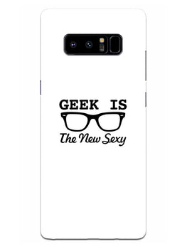 Geek Is Sexy Samsung Galaxy Note 8 Mobile Cover Case