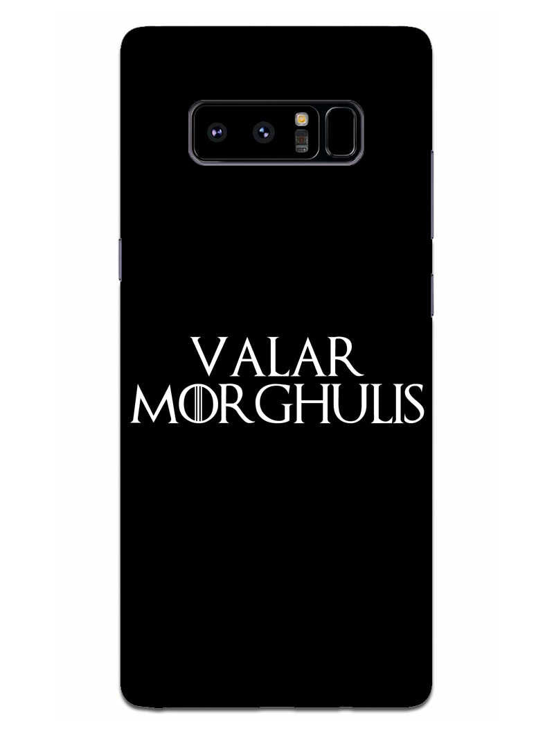 Valar Morghulis Samsung Galaxy Note 8 Mobile Cover Case - MADANYU