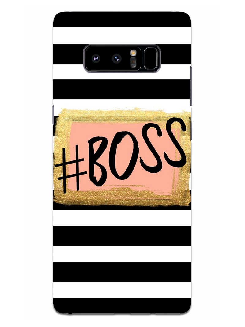 The Boss Samsung Galaxy Note 8 Mobile Cover Case - MADANYU