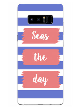 Seas The Day Samsung Galaxy Note 8 Mobile Cover Case