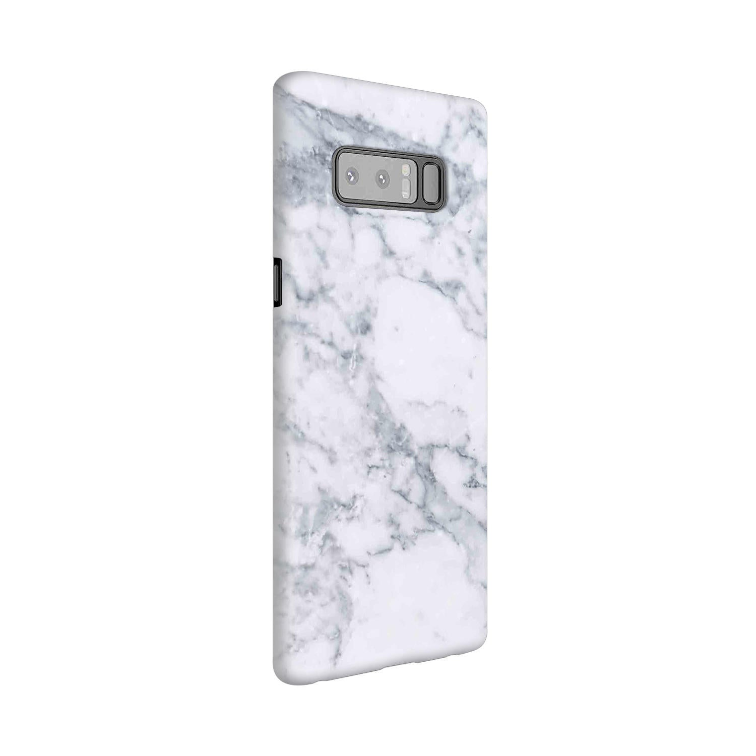 Chic White Marble Samsung Galaxy Note 8 Mobile Cover Case - MADANYU
