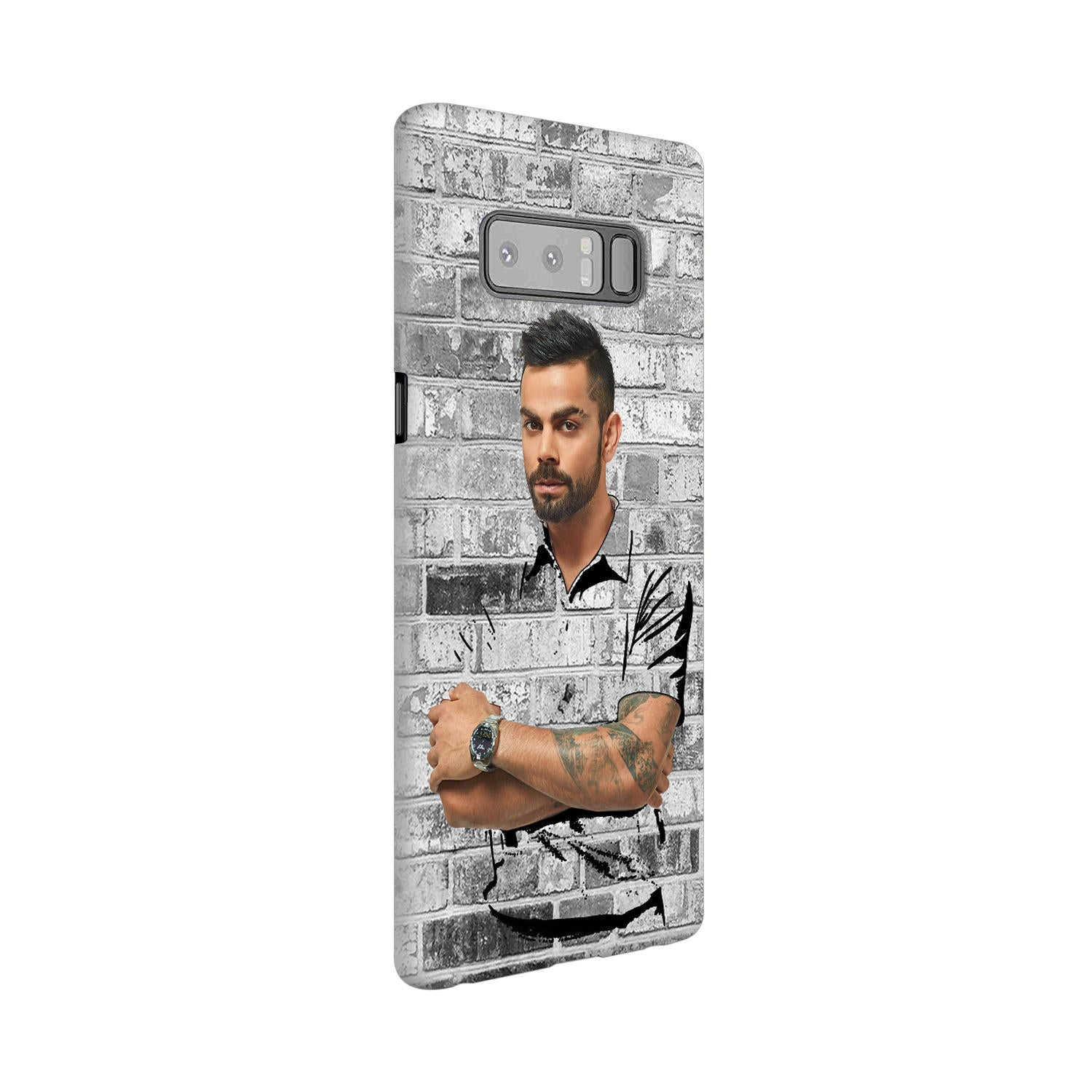 The Wall Of Kohli Samsung Galaxy Note 8 Mobile Cover Case - MADANYU