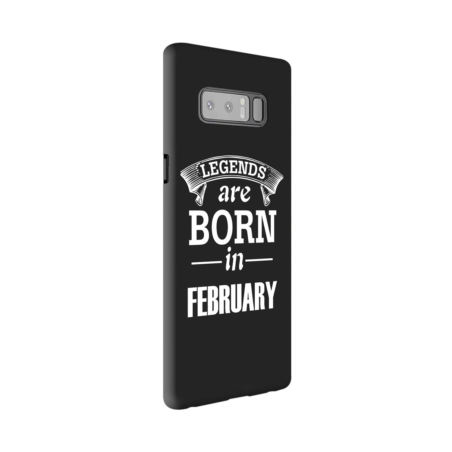 Legends February Samsung Galaxy Note 8 Mobile Cover Case