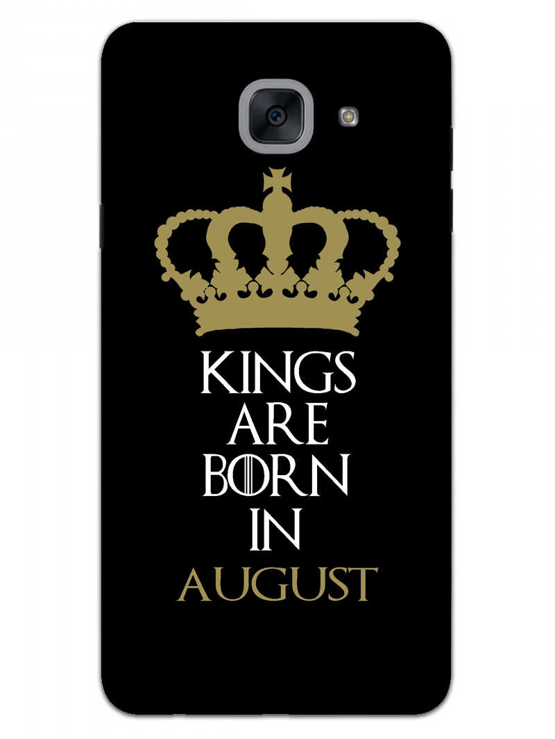 Kings August Samsung Galaxy On Max Mobile Cover Case