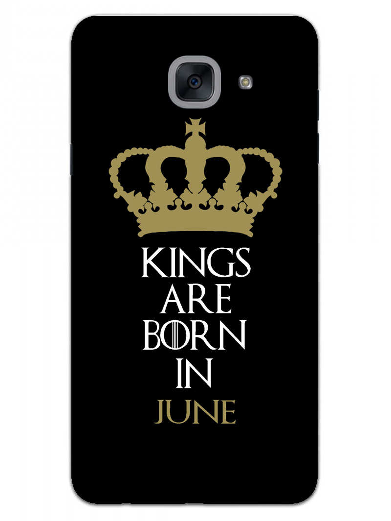Kings June Samsung Galaxy On Max Mobile Cover Case