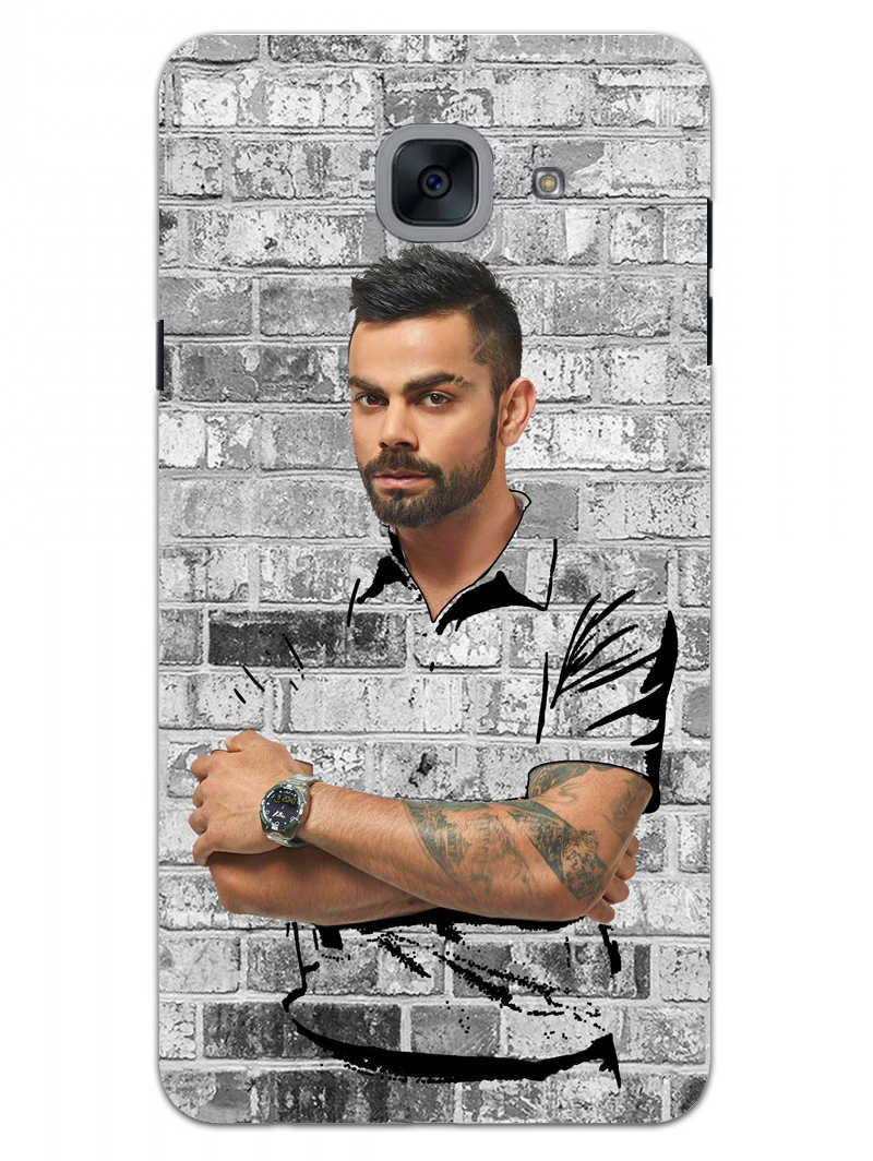 The Wall Of Kohli Samsung Galaxy On Max Mobile Cover Case