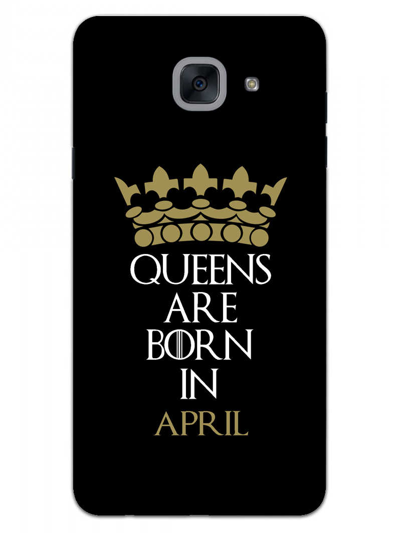 Queens April Samsung Galaxy On Max Mobile Cover Case