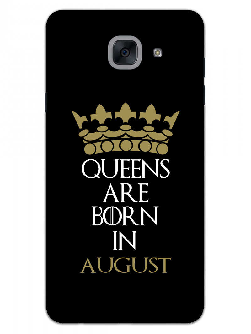 Queens August Samsung Galaxy On Max Mobile Cover Case