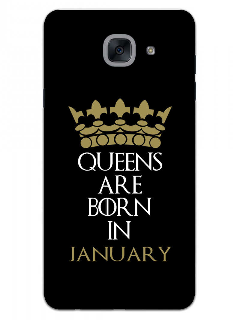 Queens January Samsung Galaxy On Max Mobile Cover Case