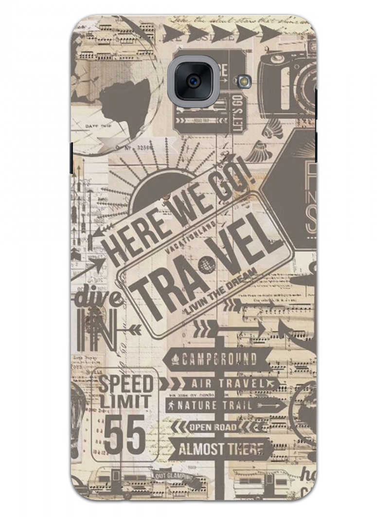 Wanderlust Graffiti Samsung Galaxy On Max Mobile Cover Case