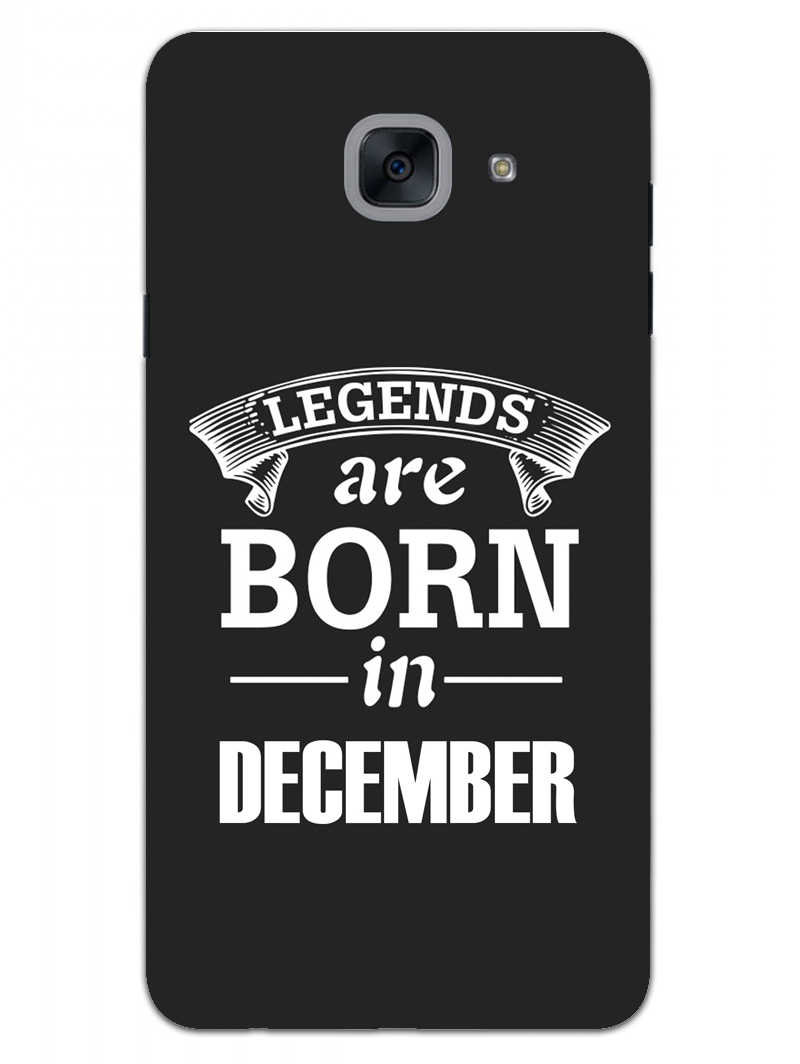 Legends December Samsung Galaxy On Max Mobile Cover Case