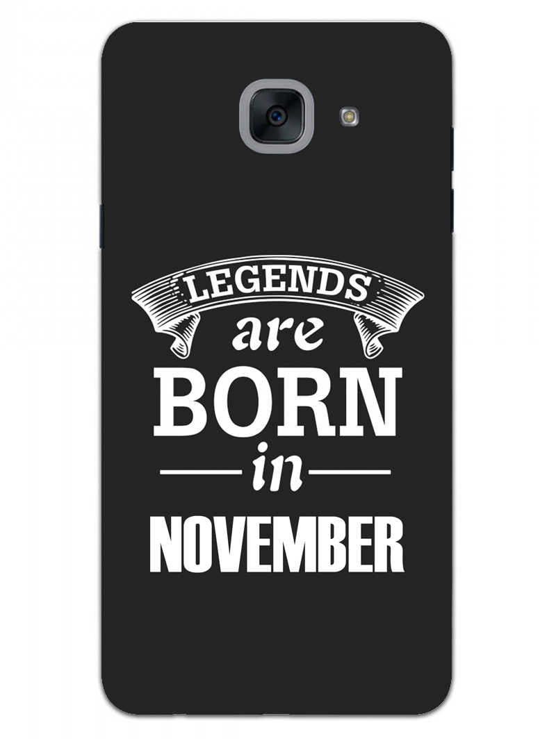 Legends November Samsung Galaxy On Max Mobile Cover Case