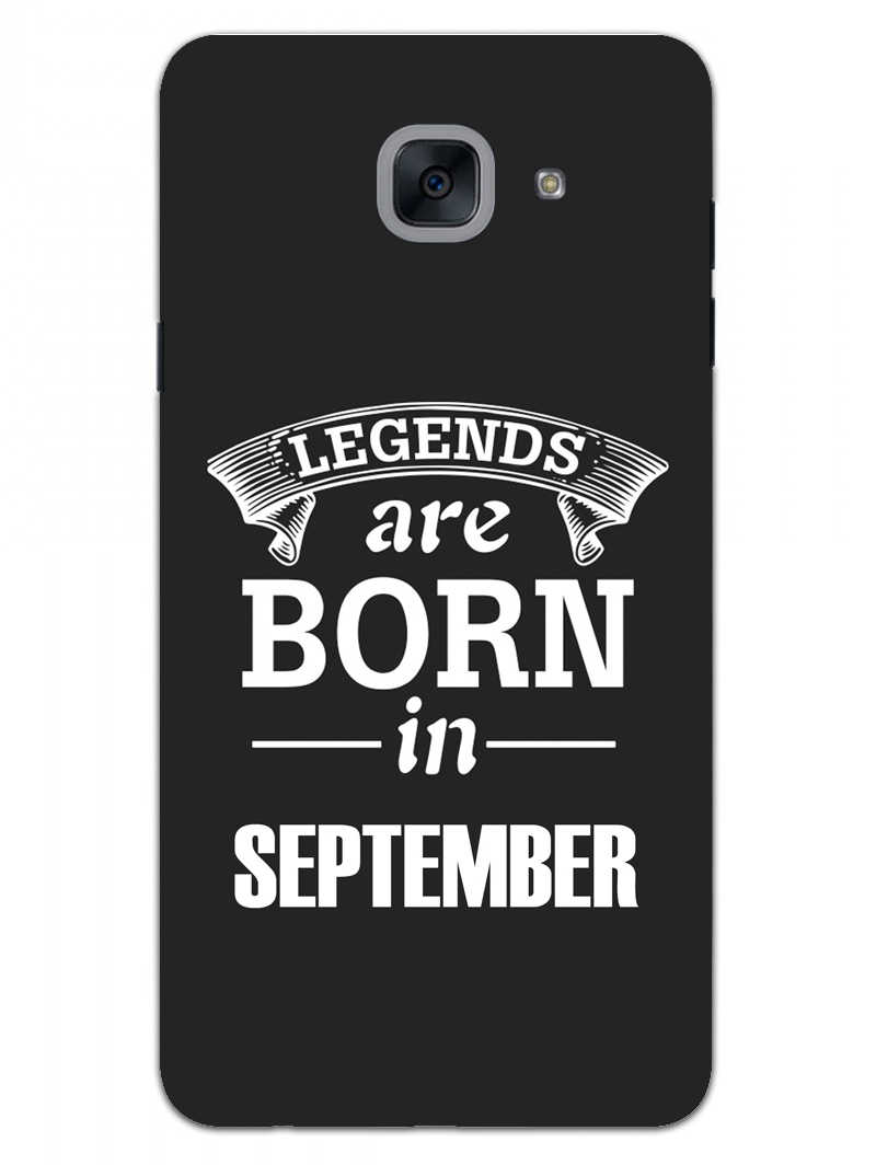 Legends September Samsung Galaxy On Max Mobile Cover Case