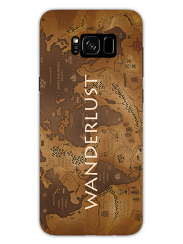 Wanderlust Traveller Globe Trotter Samsung Galaxy S8 Plus Mobile Cover Case