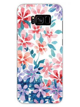 Floral Art Samsung Galaxy S8 Plus Mobile Cover Case