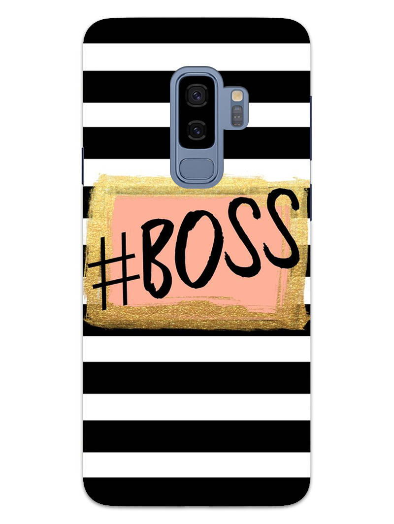 The Boss Samsung Galaxy S9 Plus Mobile Cover Case