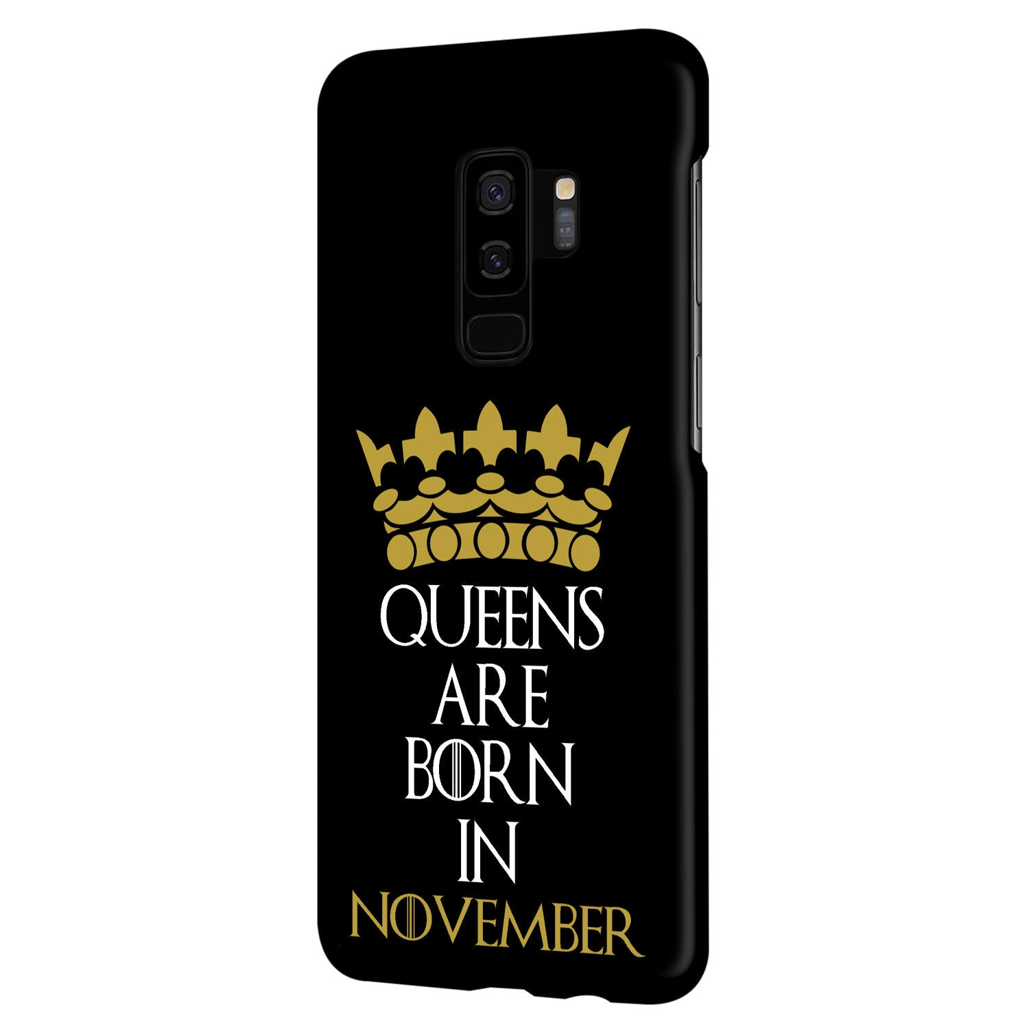 Queens November Samsung Galaxy S9 Plus Mobile Cover Case