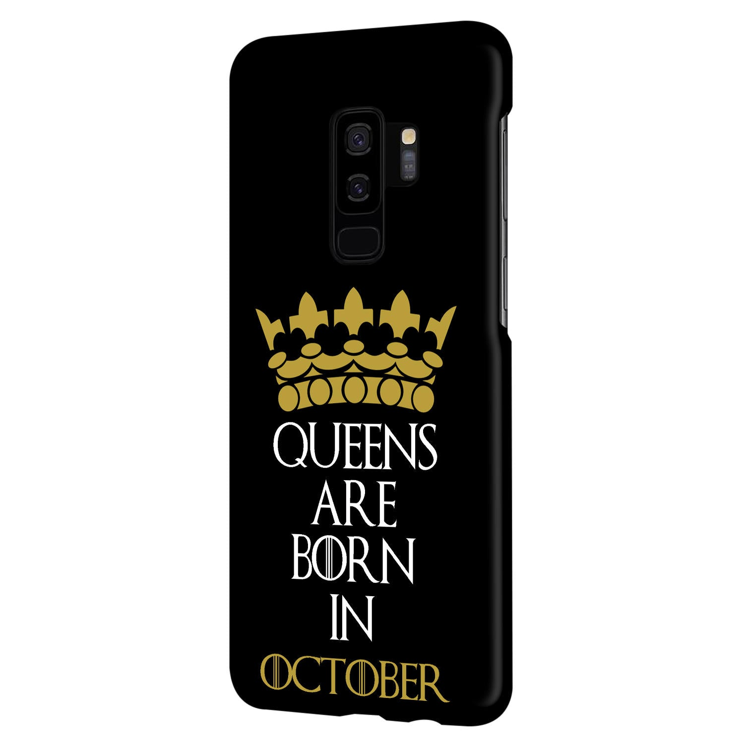 Queens October Samsung Galaxy S9 Plus Mobile Cover Case