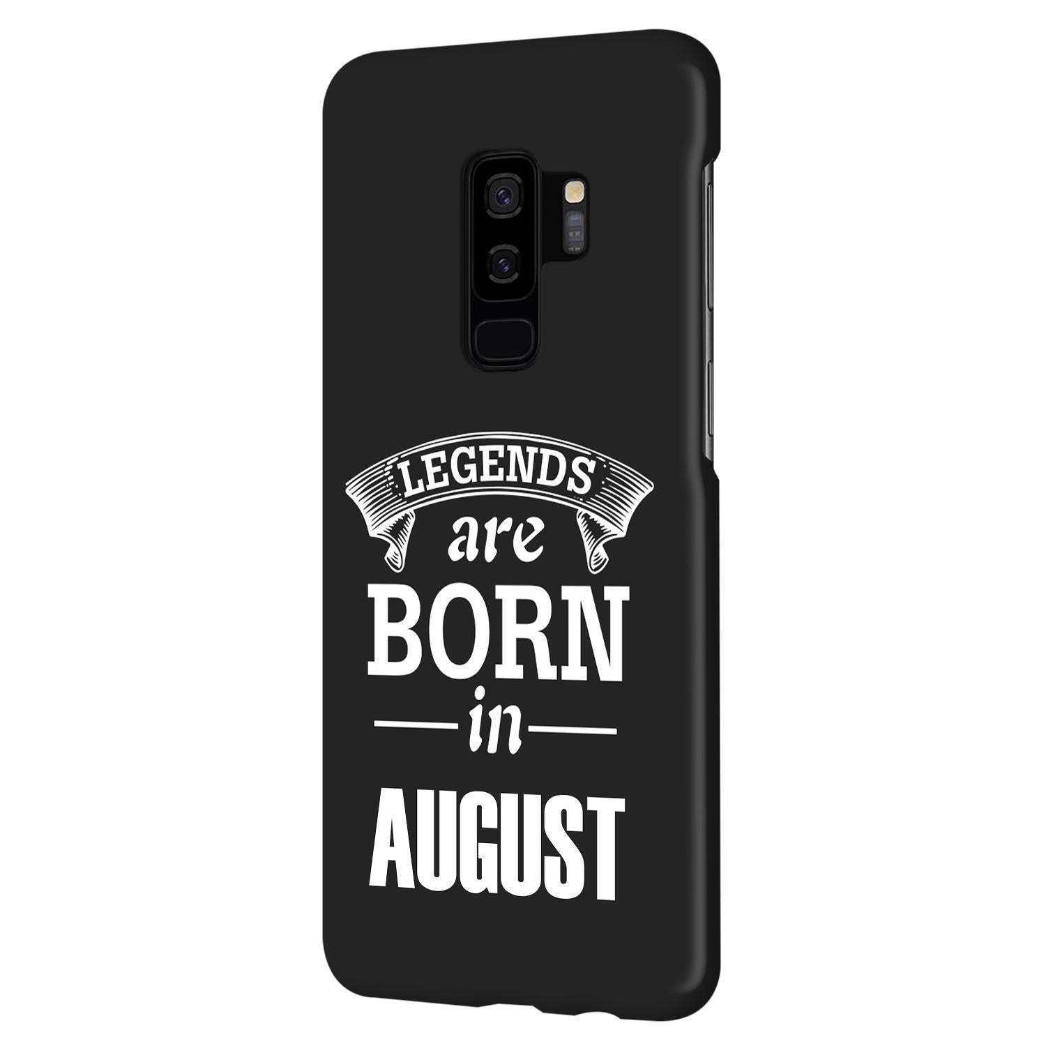 Legends August Samsung Galaxy S9 Plus Mobile Cover Case
