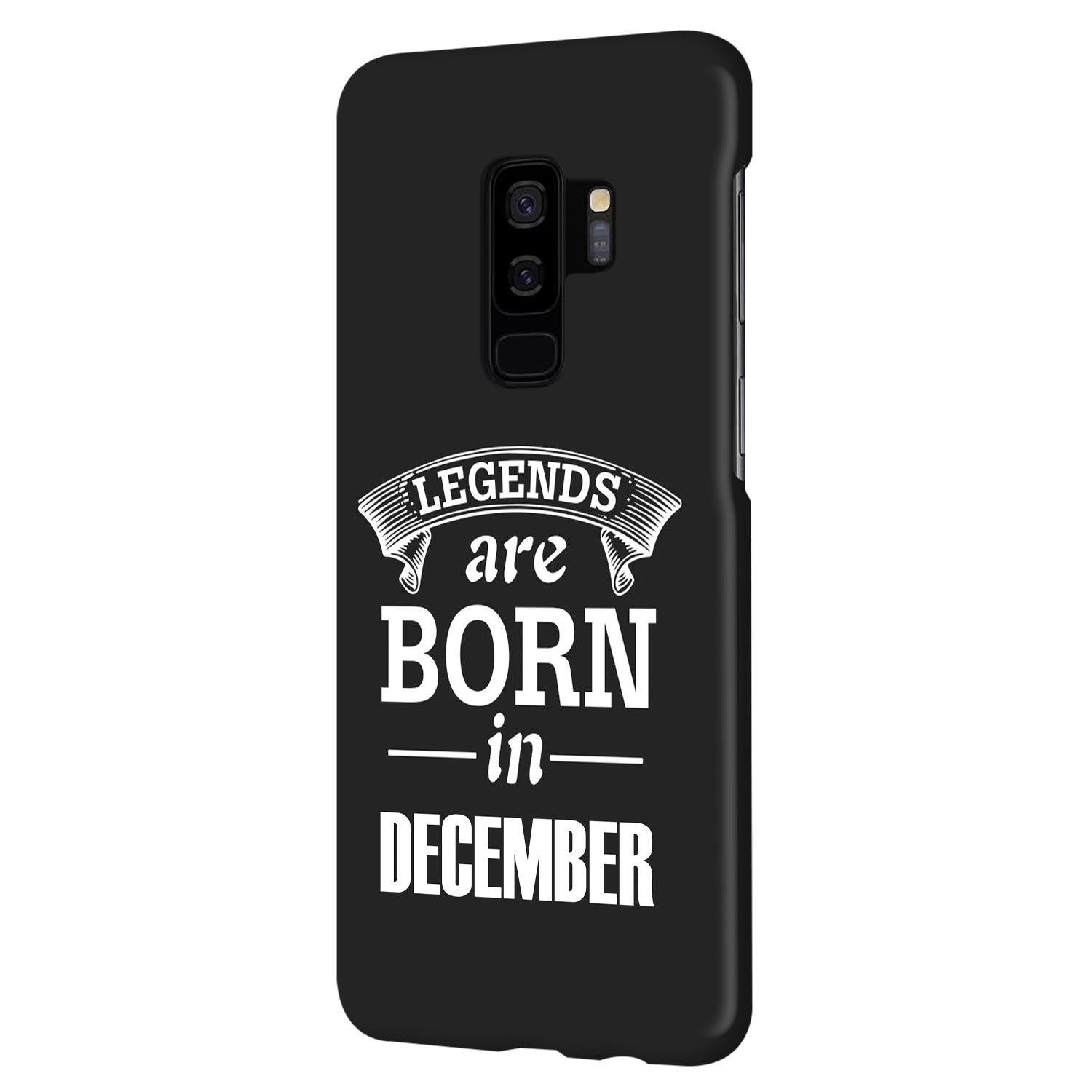 Legends December Samsung Galaxy S9 Plus Mobile Cover Case