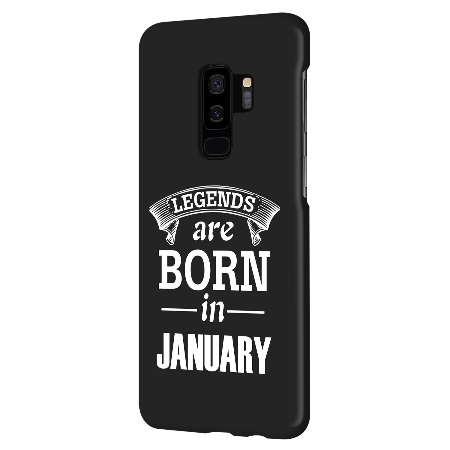 Legends January Samsung Galaxy S9 Plus Mobile Cover Case
