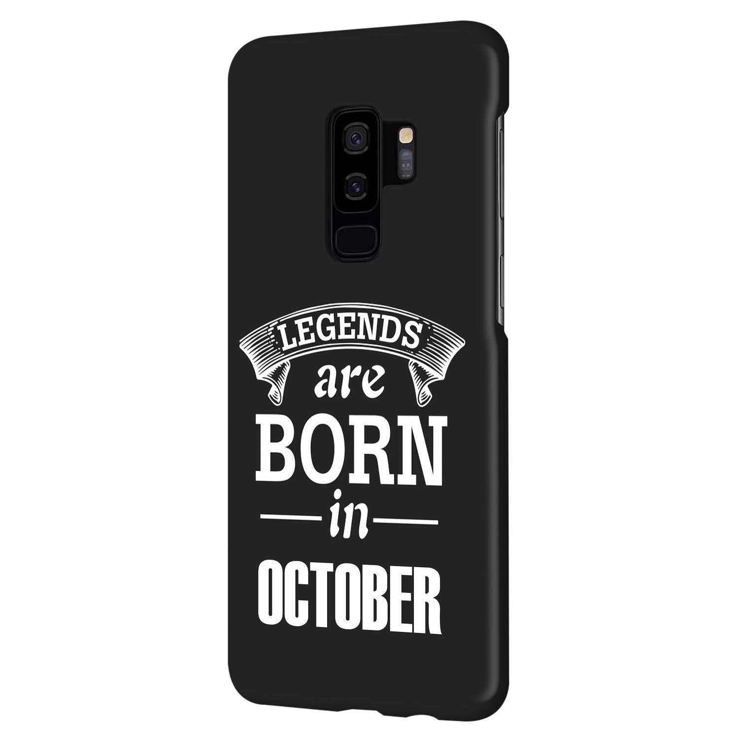 Legends October Samsung Galaxy S9 Plus Mobile Cover Case