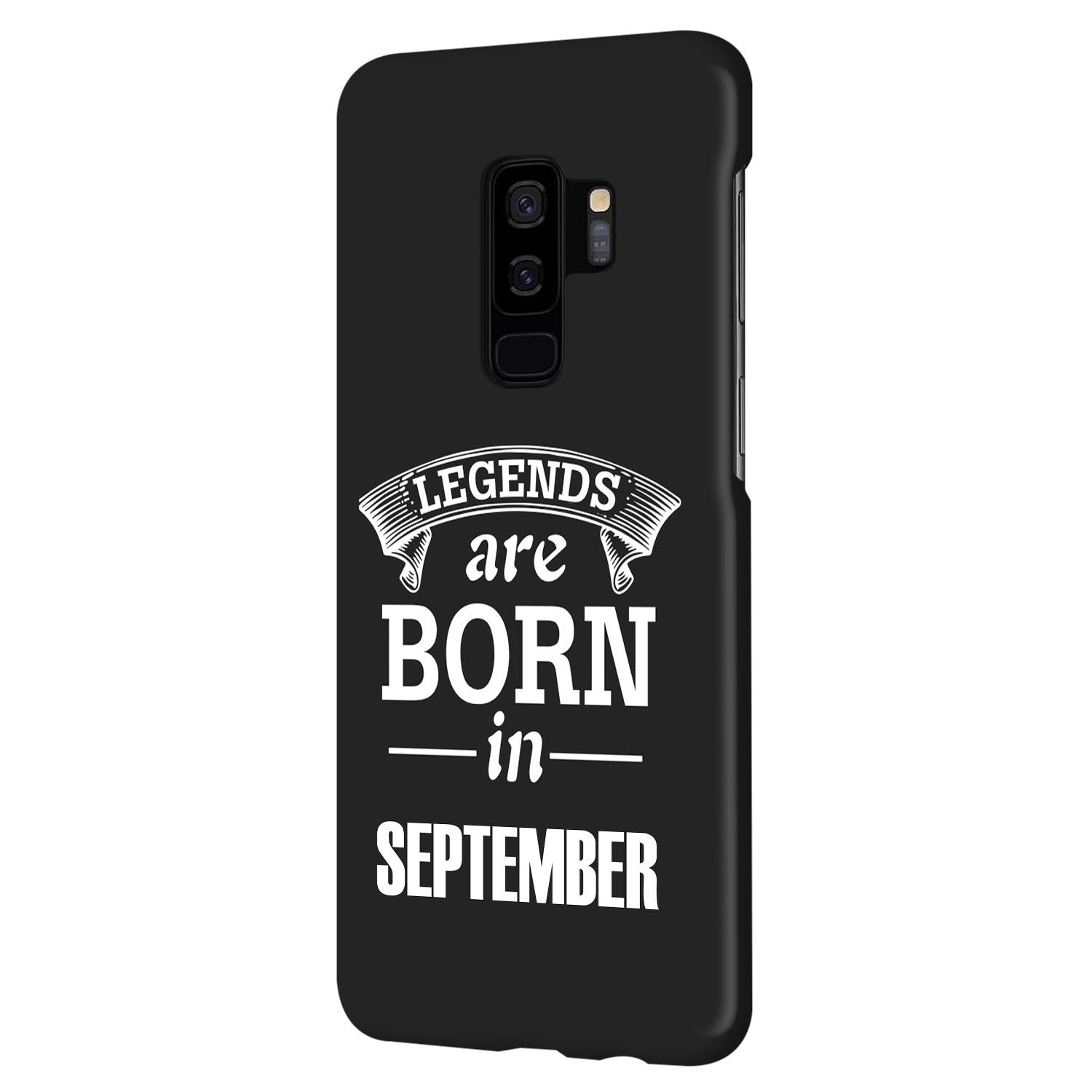 Legends September Samsung Galaxy S9 Plus Mobile Cover Case