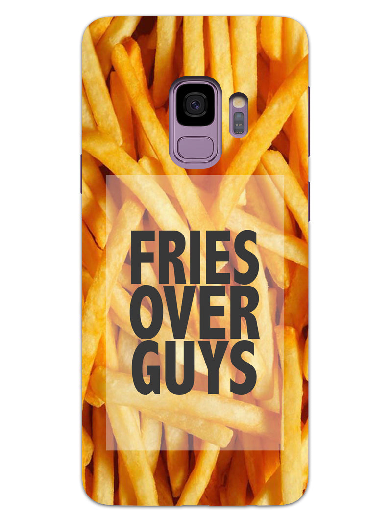 Fries Over Guys Samsung Galaxy S9 Mobile Cover Case