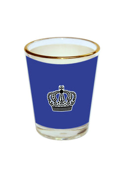 King Crown Shot Glass