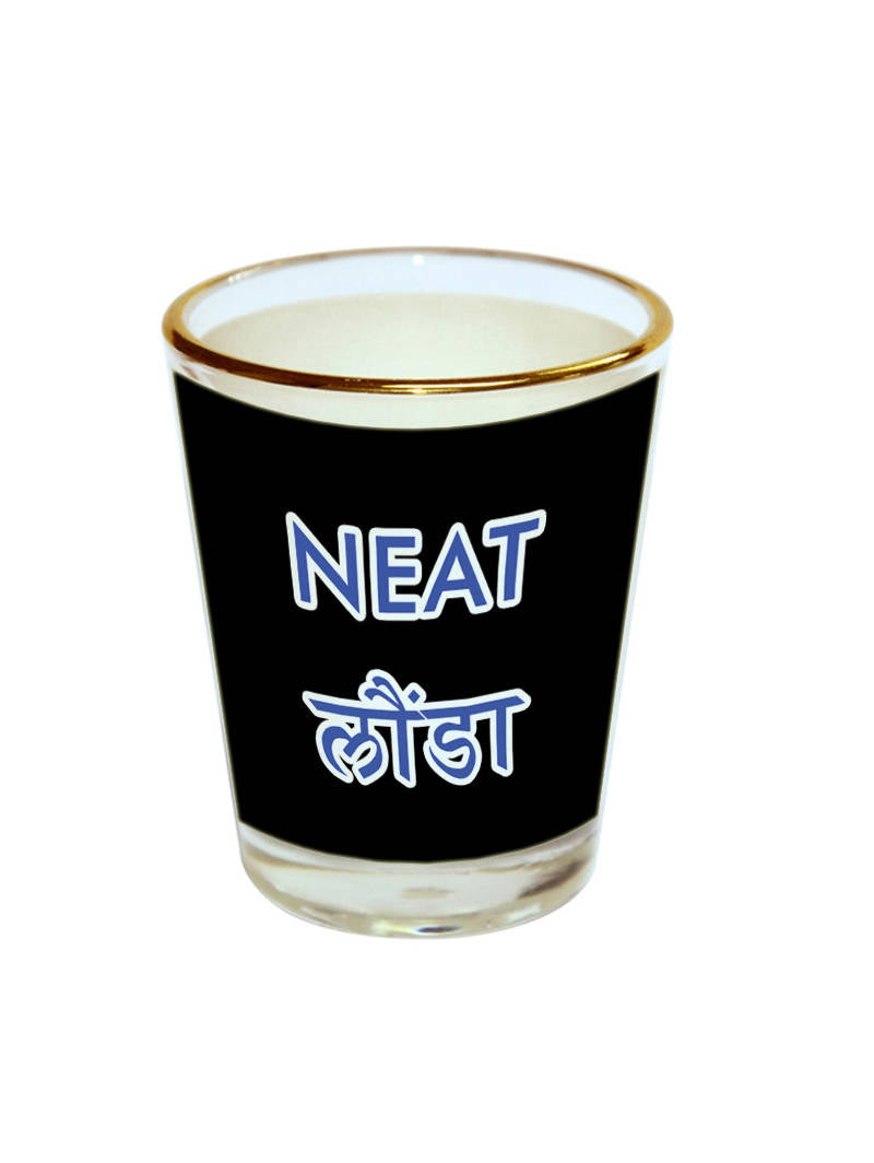 Neat Launda Shot Glass