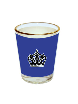 Queen Crown Shot Glass