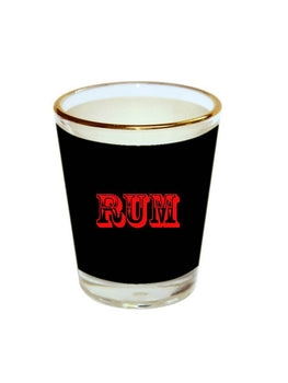 RUM Shot Glass