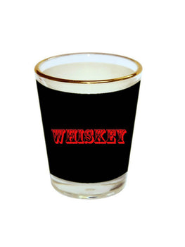 Whiskey Quote Shot Glass