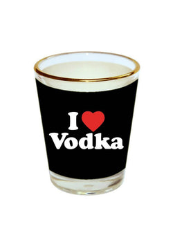 Love VODKA Shot Glass