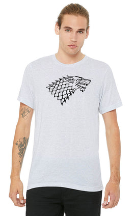 Graphic Printed T-Shirt for Men & Women Winter Is Coming